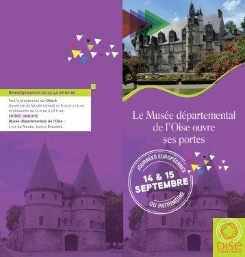Téléchargez le programme du Musée départemental.