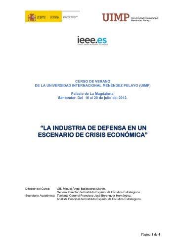 Programa del Curso - IEEE