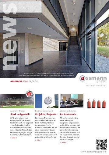 Stark aufgestellt assmann news 24_dez12 ... - Assmann Gruppe