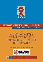 Mulit-ministry Strategy to the Expanded Response to ... - hivpolicy.org