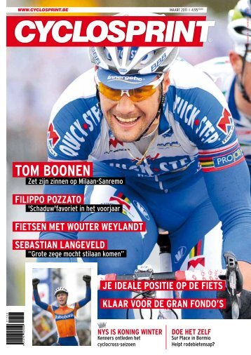 TOM BOONEN - Forza Comunicativa