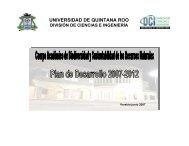 Cuerpo Académico de Biodiversidad - Sistema Institucional de ...