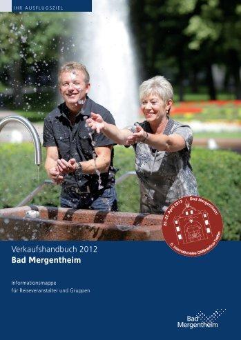Verkaufshandbuch 2012 Bad Mergentheim