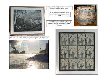 2009 Auction Catalog Part 4 - Sault Area Arts Council