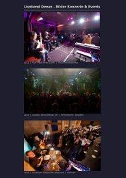 Liveband Deean . Bilder Konzerte & Events