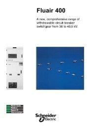 F400 brochure - Schneider Electric