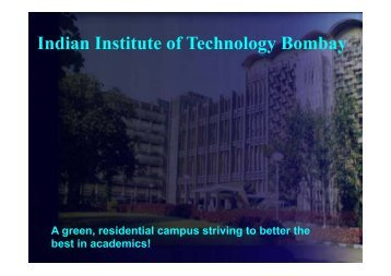 IIT Bombay - Research