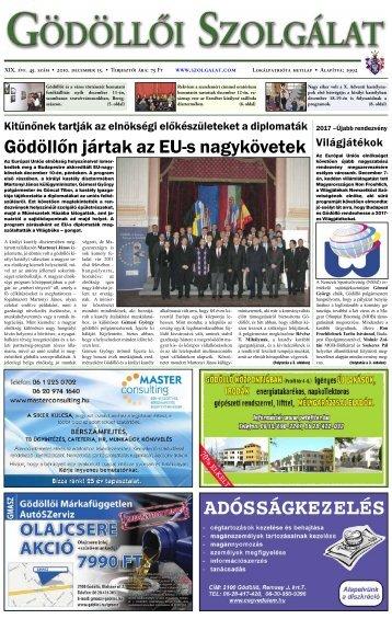 December 15. - Gödöllői Szolgálat