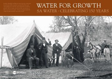 Water for Growth - SA Water