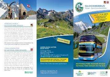gLOCKNERbUS - Nationalparkzentrum Hohe Tauern