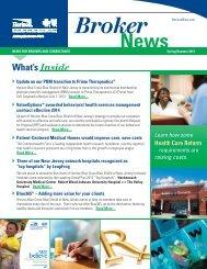 Horizon - Broker News Spring/Summer 2013 - Horizon Blue Cross ...