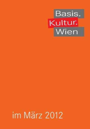 März - Basis.Kultur.Wien