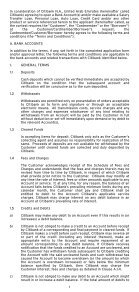GENERAL TERMS AND CONDITIONS - Citibank - Page 2