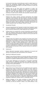 GENERAL TERMS AND CONDITIONS - Citibank - Page 3