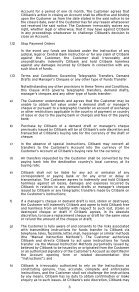 GENERAL TERMS AND CONDITIONS - Citibank - Page 4