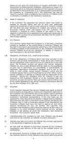 GENERAL TERMS AND CONDITIONS - Citibank - Page 5