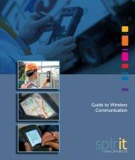 Wireless Communications Guide - Spirit Data Capture