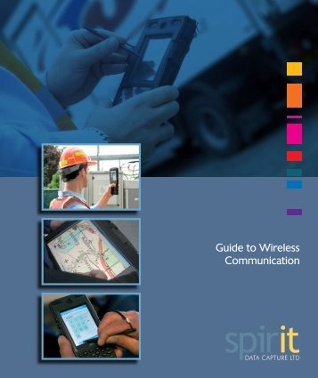 Wireless Communications Guide - Spirit Data Capture