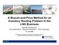 A Branch-and-Price Method for an Inventory Routing ... - gerad
