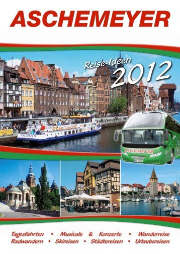 Reise-Ideen - Reisedienst Aschemeyer