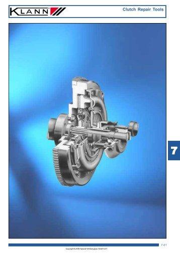 Clutch Repair Tools - CARTEL