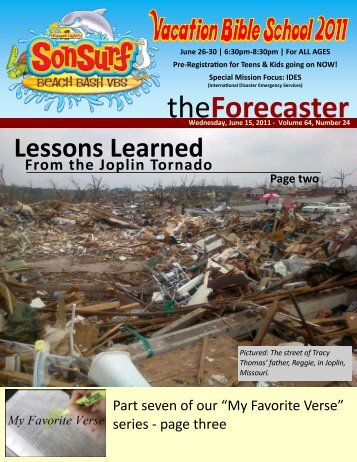 June 15: Cover Story - Lessons Learned From Joplin - Fairmount ...