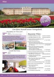 Bausteine Wien - DCS Touristik
