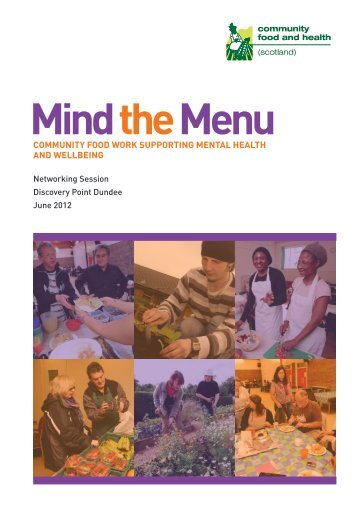 Mind the Menu - Community Food and Health