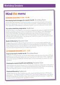 Mind the Menu - Community Food and Health - Page 5