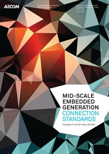 Mid-Scale Embedded Generation Connection Standards - Standing ...