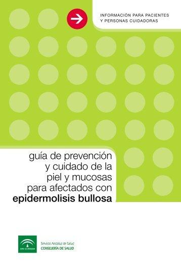 guía de prevención y cuidado de la piel y mucosas para afectados ...