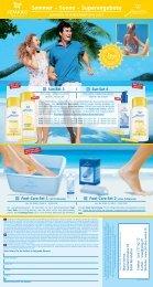 Sommer – Sonne – Superangebote - jemako - maria weiss