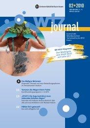 Ausgabe 2-2010 - Westdeutsches Tumorzentrum Essen