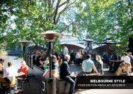 Four Edition Media Kit - Destination Melbourne