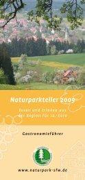 Naturparkteller 2009 - Naturpark Schwäbisch Fränkischer Wald