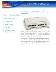 Download ZNID-GPON-5114 Datasheet