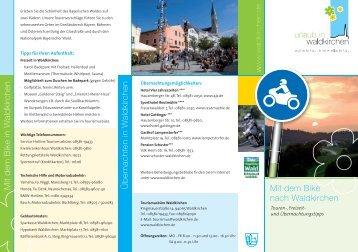 Motorradtouren Waldkirchen Flyer Download PDF - Nationalpark ...