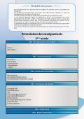 Fiche descriptive - Page 2