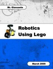 Robotics Using Lego - Lincoln