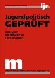Analysen, Diskussionen, Forderungen - VCP Land Niedersachsen
