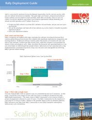 Deployment Guide - Rally Software