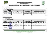 Programação Técnica da FRUTAL AMAZÔNIA 2007 – Frutas e ...