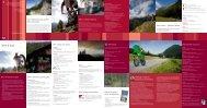 Oetztal Bike und Rad Infofolder 2009 - Tirol