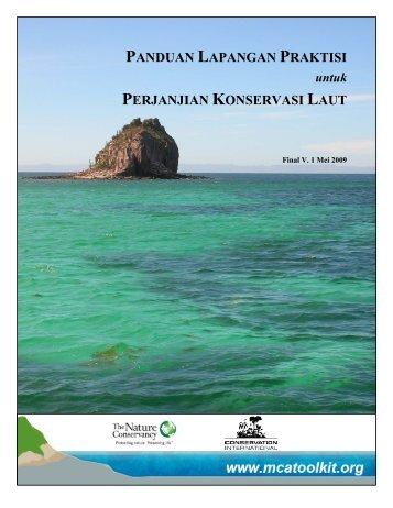 panduan lapangan praktisi perjanjian konservasi laut - Marine ...