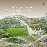 Urban development Östra Sala backe