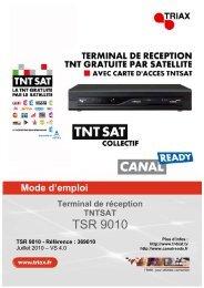 Notice TSR 9010 - Triax