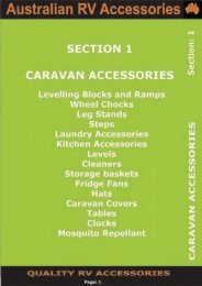 section 1 part a - Award RV Superstore