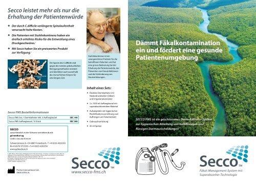 Secco Produktprospekt - gd medical AG