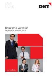 BVG - detaillierter Ausblick 2014 - obt