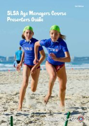 SLSA Age Managers Course Presenters Guide - Surf Life Saving ...